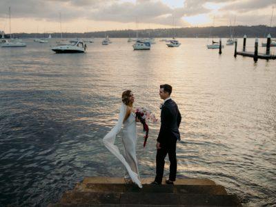 Watsons Bay Hotel wedding