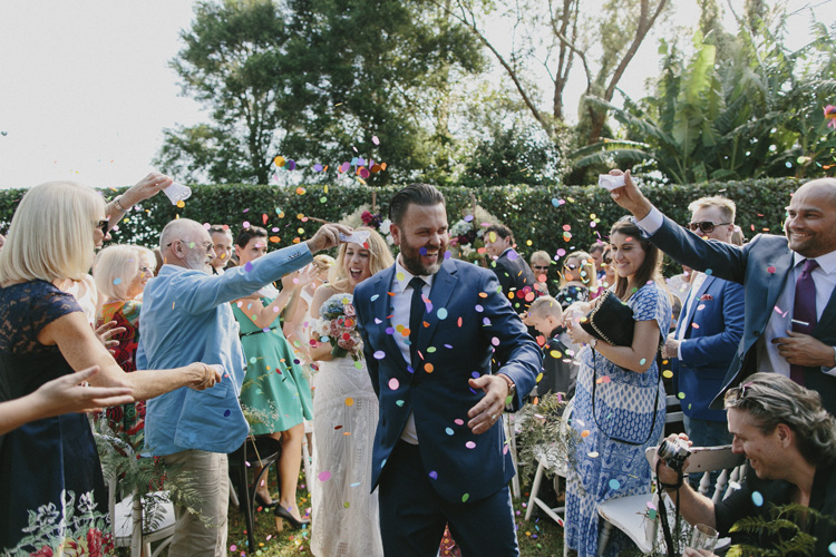 Merribee house wedding
