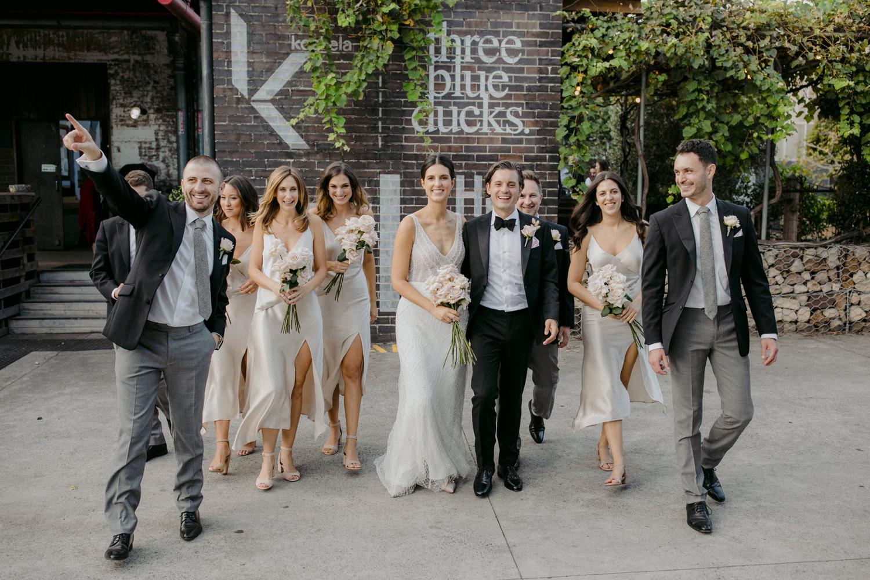Three Blue Ducks Rosebery Wedding